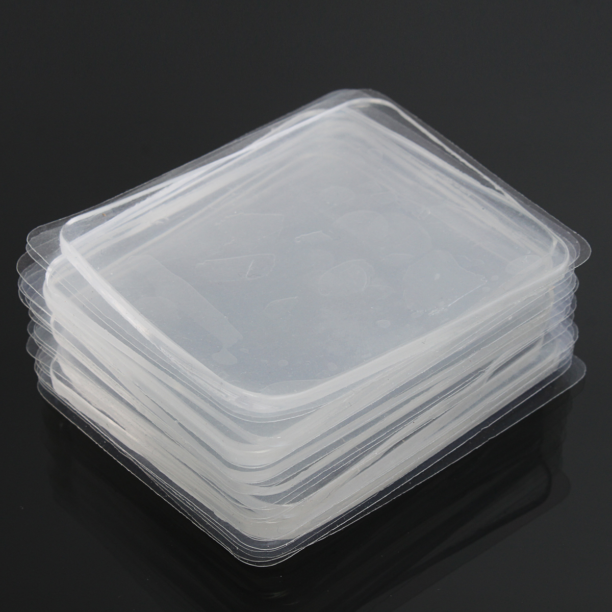10pcs Transparent Silicone Gel Pad Antislip Multifunction