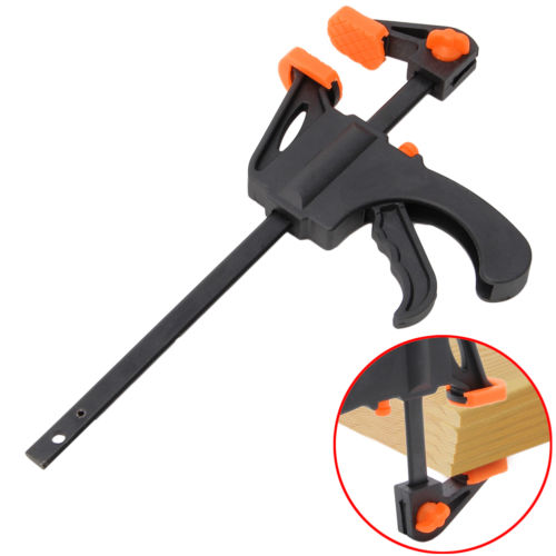Inch woodworking bar f clamp quick grip ratchet release