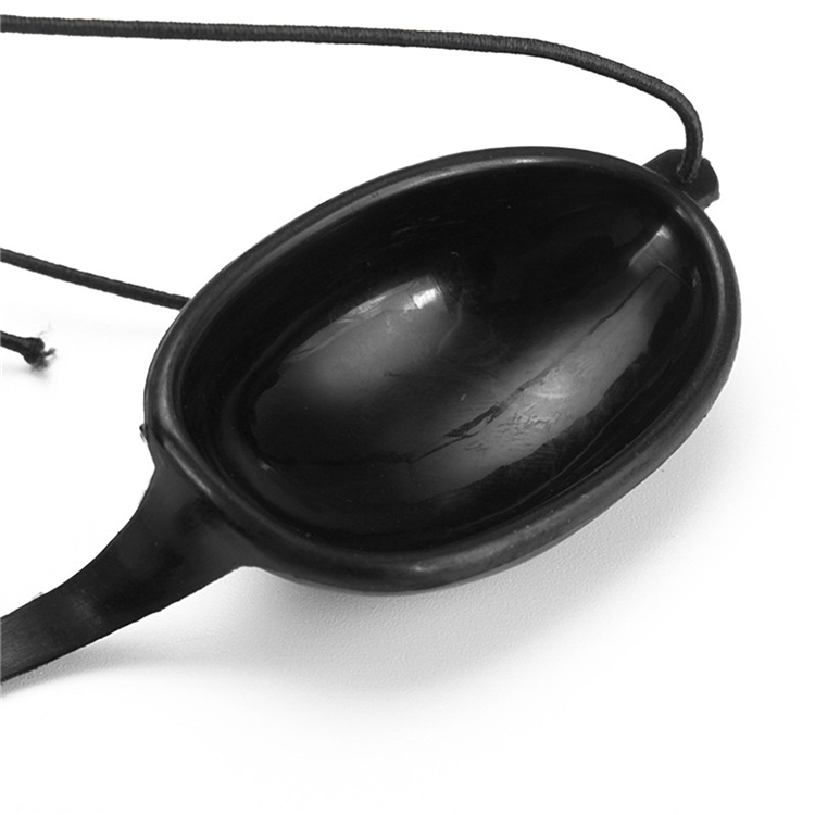 Laser Light Protective Eyepatch Safety Glasses Goggles IPL Beauty Clinic Patient Black