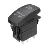 12V 20A 5 Pin Winshield Switch ON/OFF LED Rocker Switch Light Laser Rocker Toggle Switch