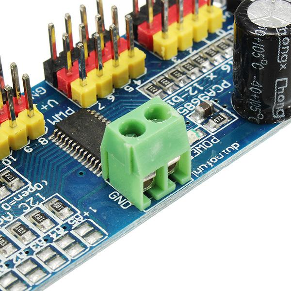 3Pcs PCA9685 16-Channel 12-bit PWM Servo Motor Driver I2C Module For  Arduino Robot