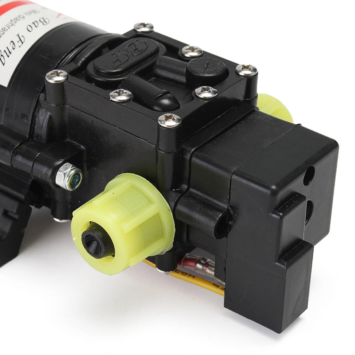 12V Water Pressure Pump Self-Priming Diaphragm Caravan/RV/Boat/Marine Boat