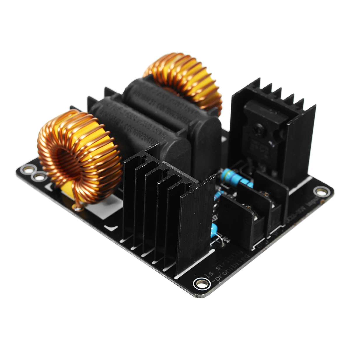 1000W 20A ZVS Low Voltage Induction Heating Module Board ...