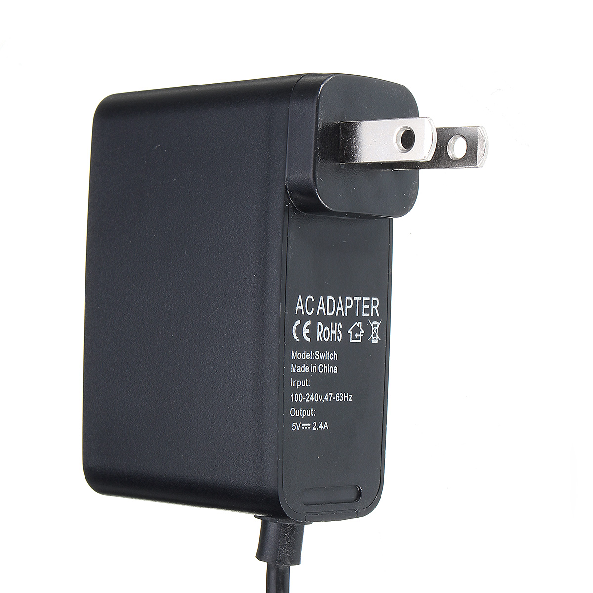 US/EU Power Charger Transformer Adapter Charging Cable For