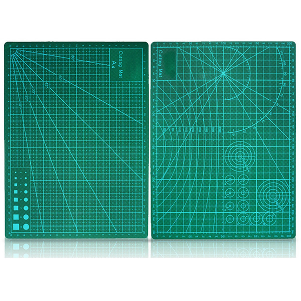 Double sided green cutting mat board a4 size pad model for Cutting mat for crafts