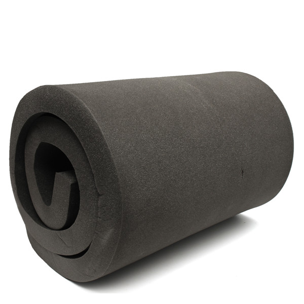 200x60x5cm Black High Density Seat Foam Rubber Replacement