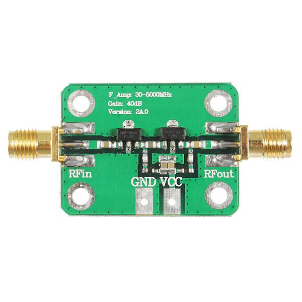 30-4000MHz 40dB Gain Broadband High Frequency RF Amplifier Module For FM HF VHF/UHF