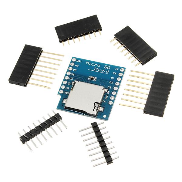 Wemos micro sd card shield for d mini tf wifi