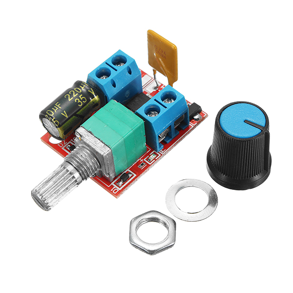 5v 30v dc pwm speed controller mini electrical motor for Dimmer for motor speed control