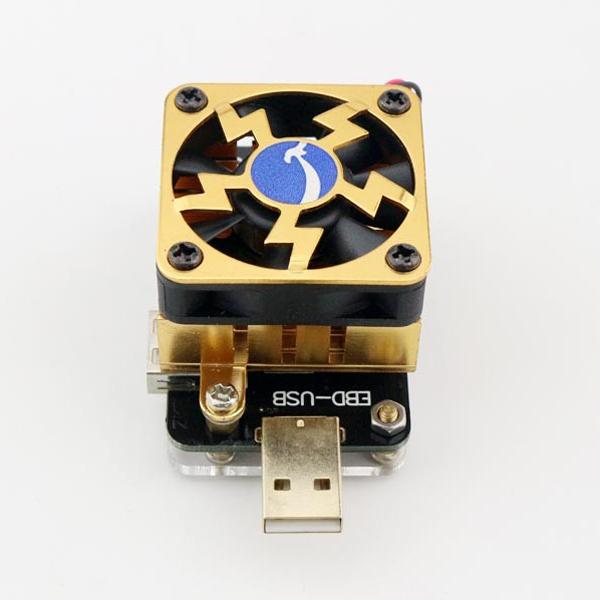 EBD USB Discharging Load Resistor USB Tester for QC2.0/3.0 MTK-PE Trigger Voltage Current Capacity Tester