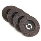 100mm Flap Sanding Disc 40 60 80 120 Grit Angle Grinder Polishing Wheel