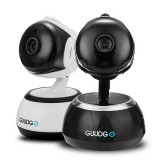 GUUDGO GD-SC02 720P Cloud Wifi IP Camera Pan&Tilt IR-Cut Night Vision Two-way Audio Motion Detection Alarm Camera Monitor Support Amazon-AWS[Amazon Web Services] Cloud Storage Service