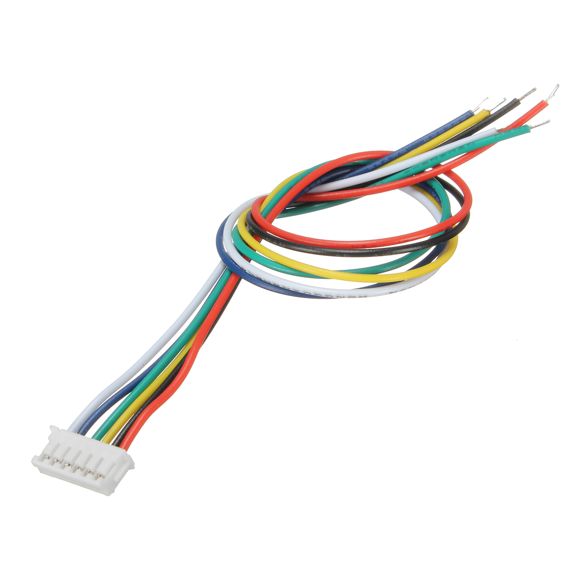 Excellway® Mini Micro JST 1.5mm ZH 6-Pin Connector Plug and Wires ...