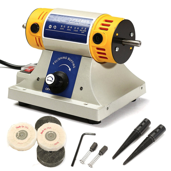 Astonishing 220V Mini Polishing Machine For Dental Jewelry Motor Lathe Bench Grinder Kit Set Gmtry Best Dining Table And Chair Ideas Images Gmtryco