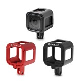 PULUZ PU158 Housing Shell Aluminum Alloy Protective Cage Case for GoPro HERO4 HERO 4 Session