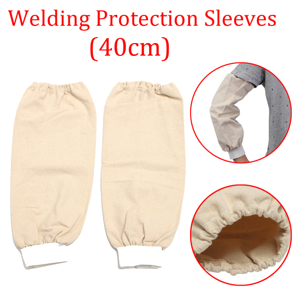 Welding Arm Sleeves Knit Heat Protection Cut Resistant Welding Protection Sleeves