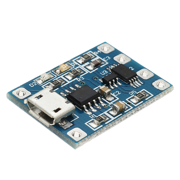 MicroUsbTp4056ChargeAndDischargeProtectionModule