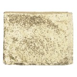 128x115cm Champagne Gold Sparkly Sequin Tablecloth Photo Backdrop Background Studio Prop