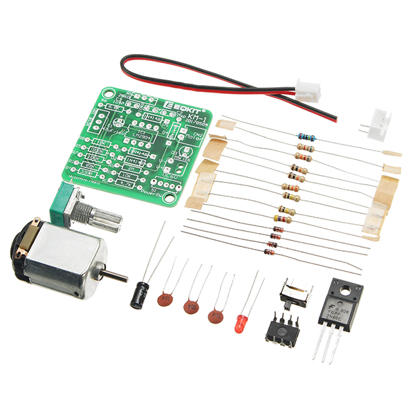 control dc motor speed with potentiometer