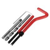 30Pcs Damaged M6 Thread Repair Tool Kit Repair Recoil Insert Kit