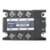 JGX-3 D4840 Three-phase Solid State Relay SSR DC-AC 40A Input 3-32VDC 24-480VAC