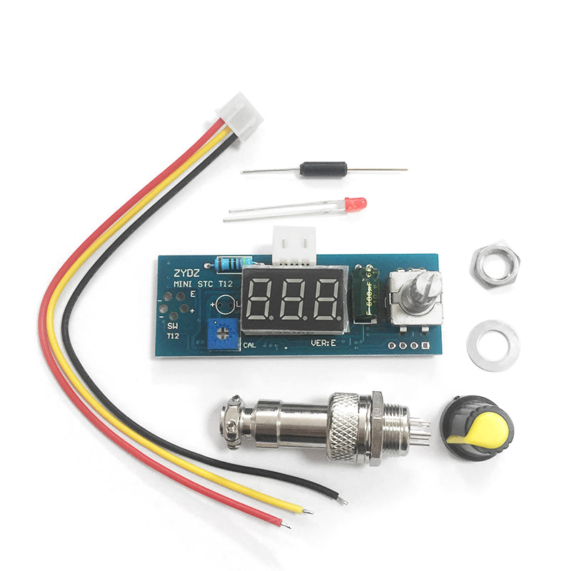 Diy Soldering Iron Station Temperature Controller Digital for HAKKO T12 Handle k