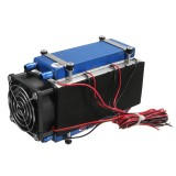 420W 6 Chip Semiconductor Refrigeration Cooler Air Cooling Device DIY Radiator