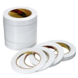 25m White Double Sided Tape Roll Strong Adhesive Sticky DIY Craft 8 Widths