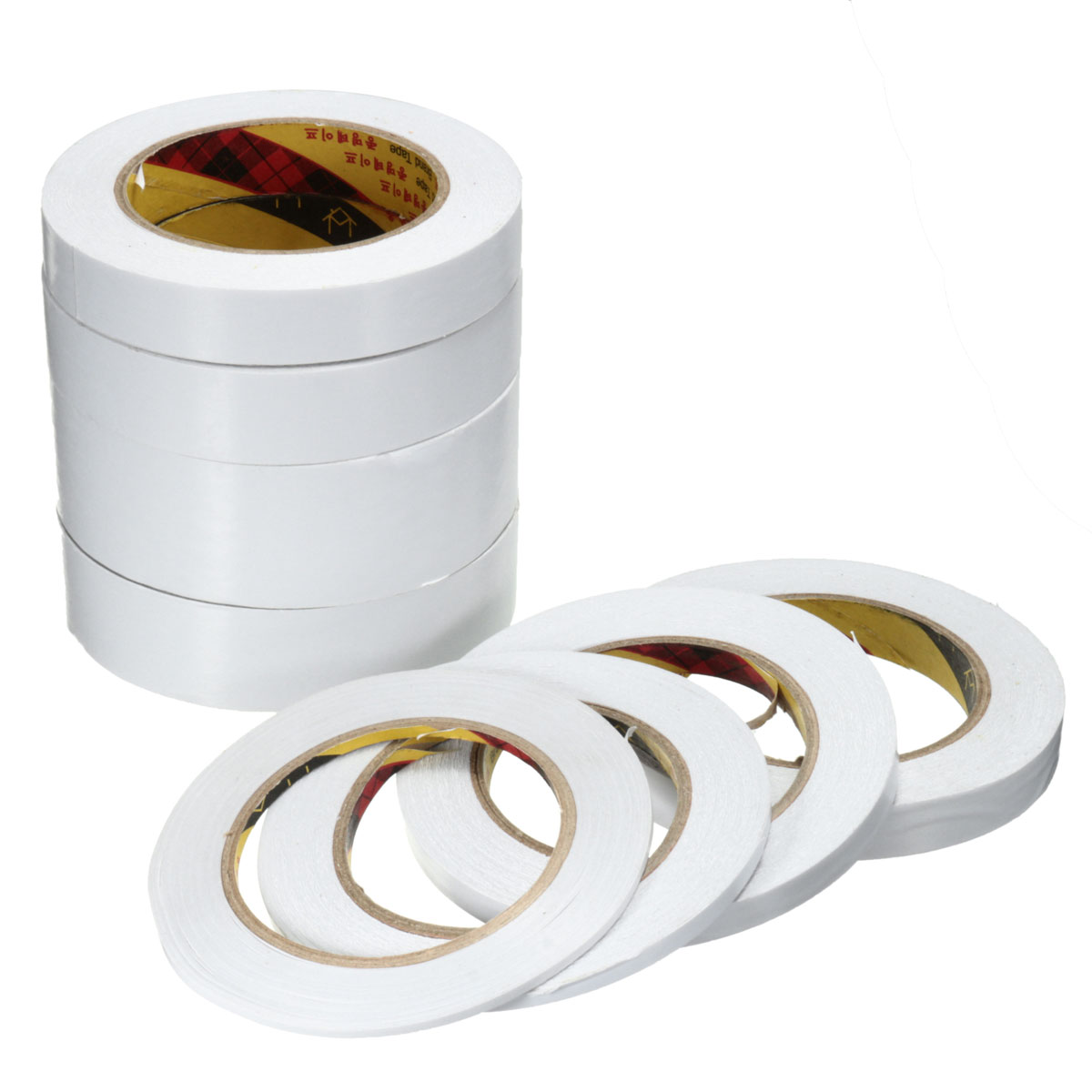 25m white double sided tape roll strong adhesive sticky for Double sided craft tape