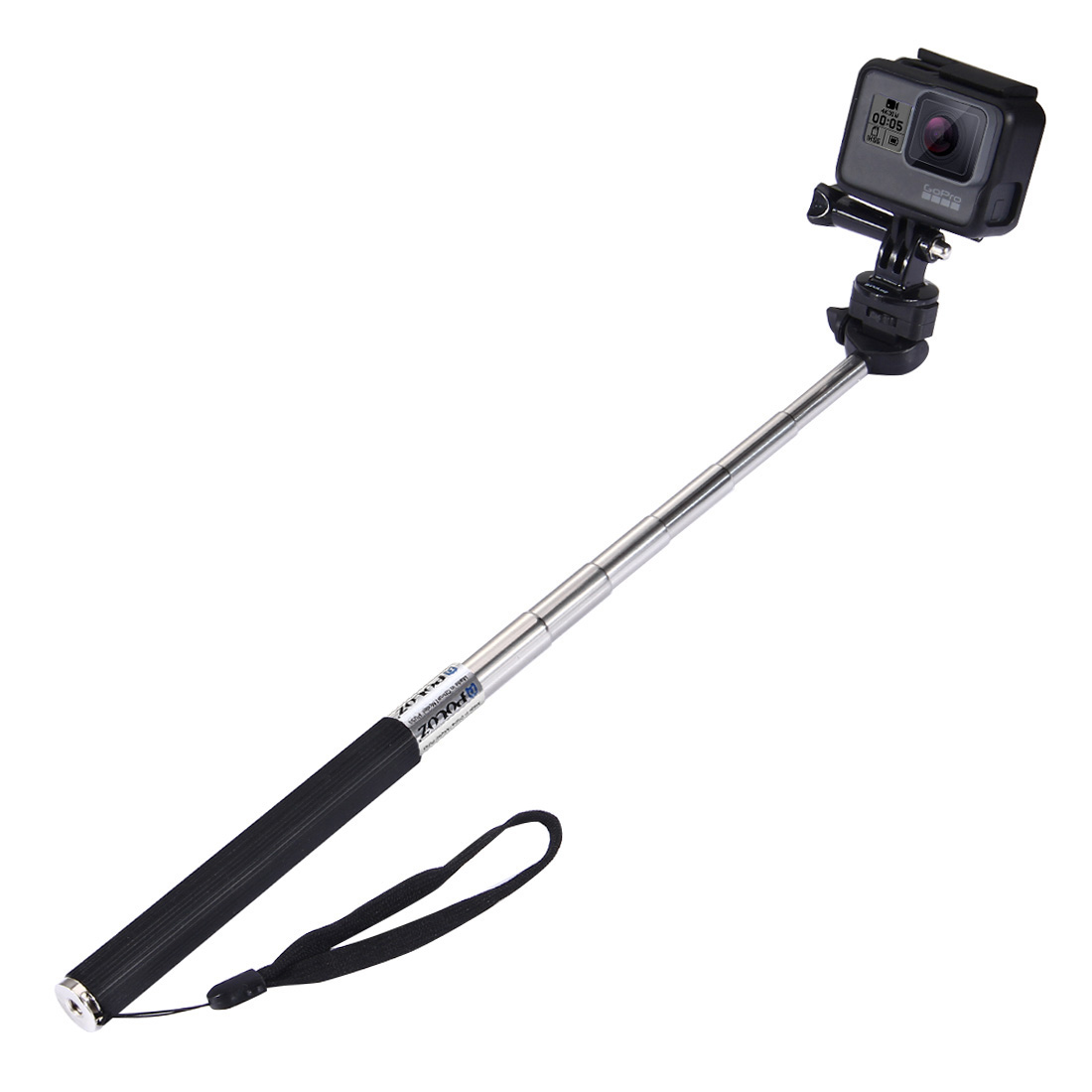 PULUZ PU55 Extendable Handheld Selfie Stick Monopod For