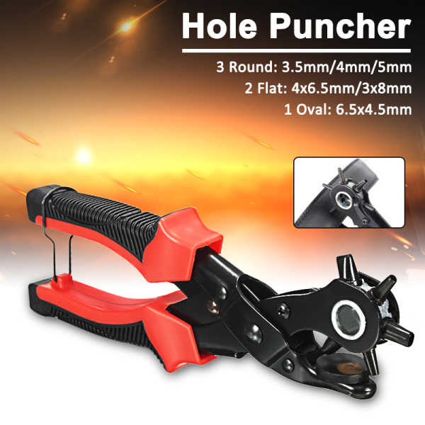 Leather Craft Tool Belt Eyelet Hole Puncher Punching Plier
