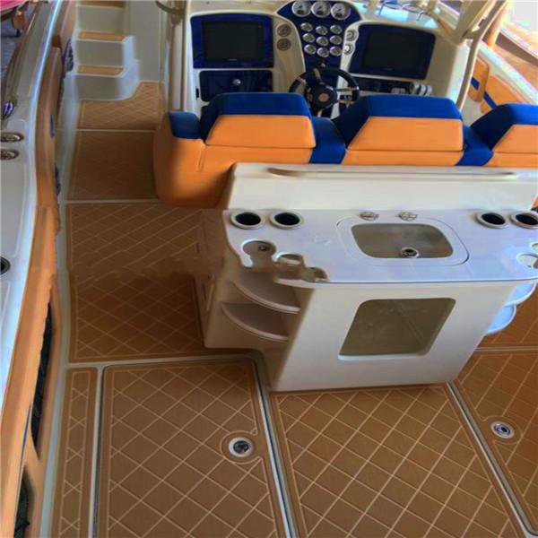 White Eva Foam Teak Boat Sheet Floor