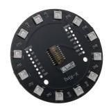 Wemos® X-Ring RGB WS2812b LED Module For RGB Built-in LED 12 Colorful LED Module For WAVGAT ESP8266 RGB