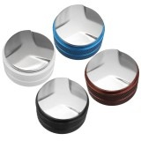 58mm Adjustable Palm Coffee Tamper Stainless Steel Three Angle Slopes Base 4 Colors