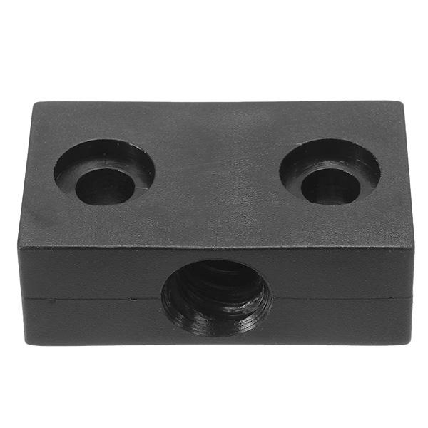 3PCS T8 2mm Lead 2mm Pitch T Thread POM Trapezoidal Screw Nut Block For 3D Print