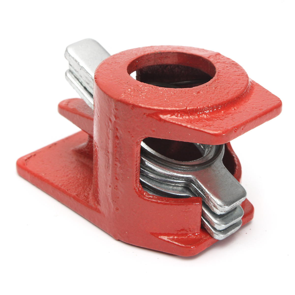 Raitool™ 3/4  Inch Woodworking Clamp Wood Gluing Pipe Clamp Set Woodworking Cast Structure