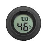 Mini Digital LCD Temperature Humidity Meter Thermometer Hygrometer Round