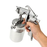 PQ-2 Heavy Duty 2.0mm Nozzle Suction Feed Paint Painting Spray Gun Air Sprayer 1L Pot