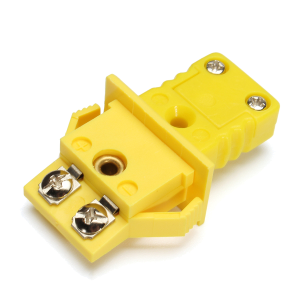 Panel Mount K-type Thermocouple Miniature Socket Plug Connector