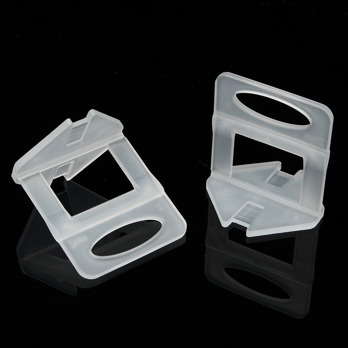 100pcs 2mm Tile Leveling System Spacers Plastic For Home Floor