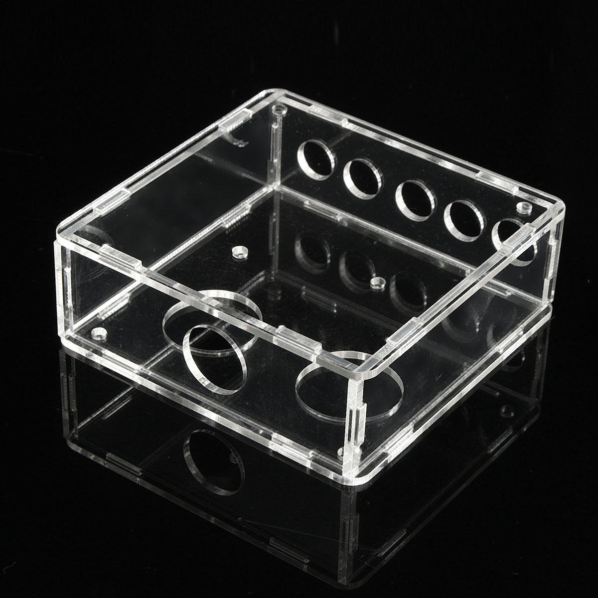 Acrylic Transparent Shell Housing For 6J1 Valve Preamp Tube PreAmplifier Board Case