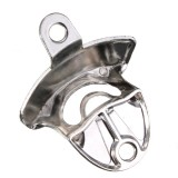 Nickel Bottle Opener Wall Mount Bar Wine Beer Soda Glass Cap Remover Opener Tool