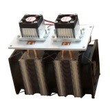 Enhanced Version 12V 12A 144W DIY Double Head Electronic Semiconductor Refrigerator Radiator Cooling Equipment Refrigeration Side Can Be Frozen