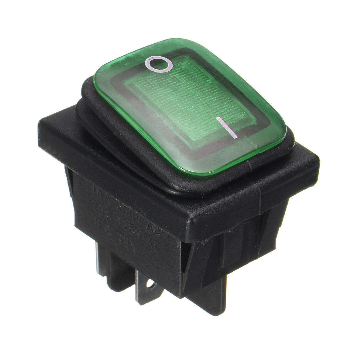 Boat Parts & Accessories Rocker Toggle Switch On-off-on 4 Pins 12v Dc Car Boat Automobiles Waterproof Led Latching Switches
