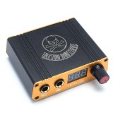 Aluminum Alloy Mini Power Supply 18V 1.5A Tattoo Power Tattoo Machine Charger