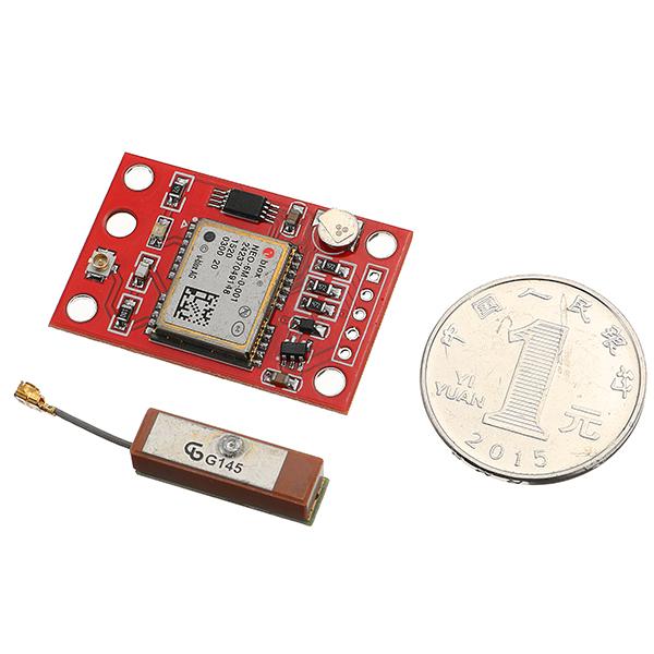 Gyneo mv gps module neo m gy board with antenna
