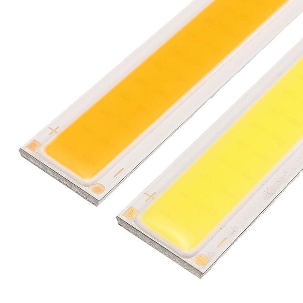 LUSTREON DC12V 10W White/Warm White COB LED Chip 170*15mm for DIY Flood Light