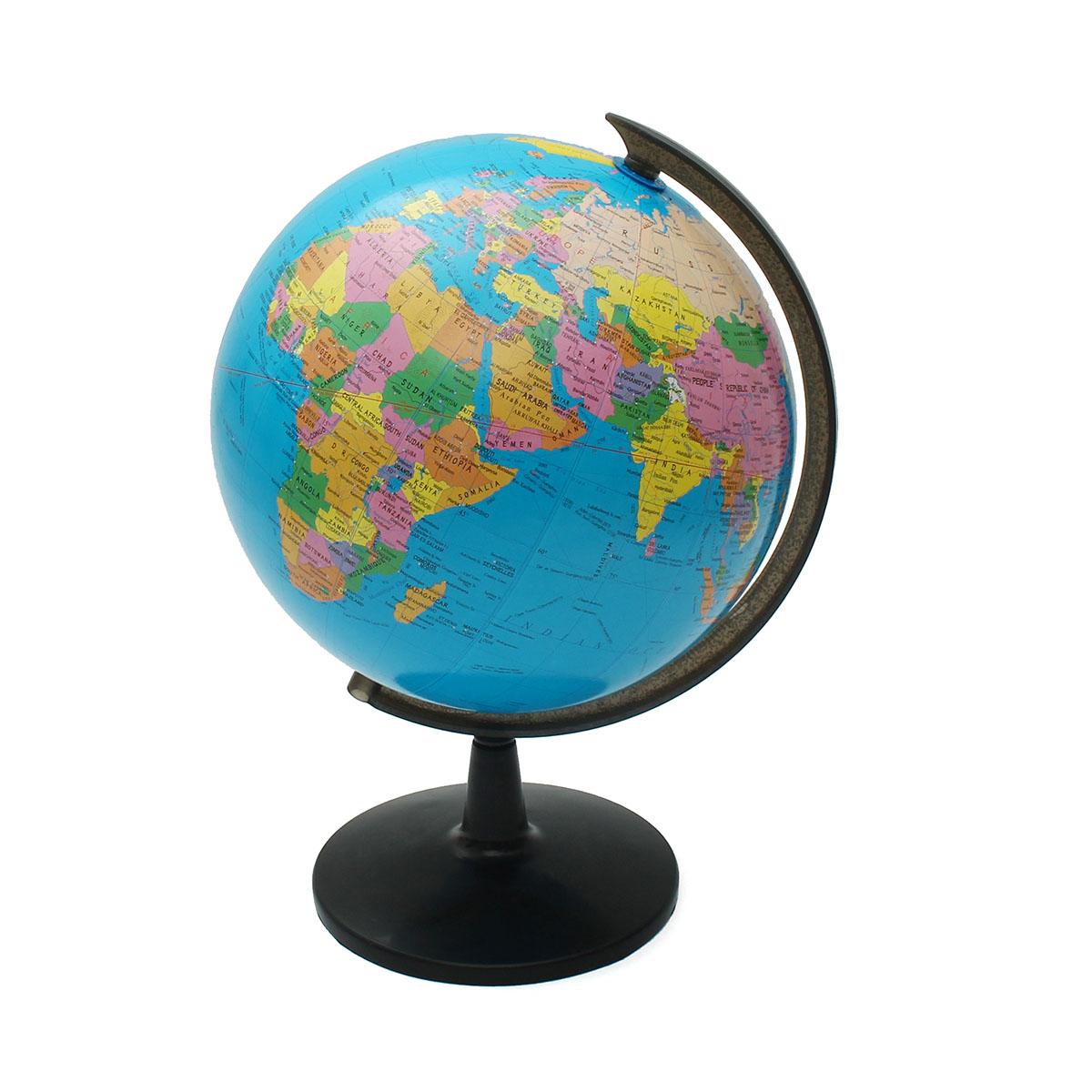 32cm rotating world earth globe atlas map geography. Black Bedroom Furniture Sets. Home Design Ideas