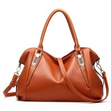 Women PU Leather Elegant Daily Handbag Shoulder Bag Crossbody Bag