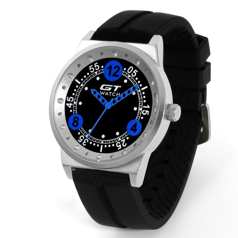 b5418ac6040 GT 006 Silica Gel Strap Car Racing Style Fashion Sport Casual Men Quartz  Wrist Watch